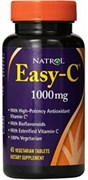 Natrol - Easy-C 1000 mg (45таб)