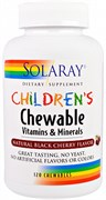 Solaray CHILDRENS Chewable Vitamins & Minerals (120жев.таб)