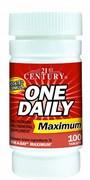 21st Century One Daily Maximum (100таб)