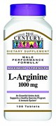 21st Century Maximum Strength L-Arginine 1000mg (100таб)
