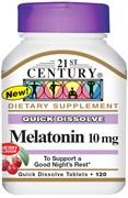 21st Century Melatonin 10mg (120таб)