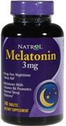 Natrol - Melatonin 3mg (240таб)