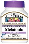 21st Century Melatonin 5mg (120таб)
