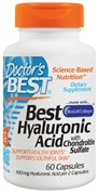 Doctor's Best Hyaluronic Acid+Chondroitin Sulfate (60капс)