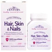 21st Century Hair,Skin & Nails (90таб)