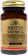 Solgar Biotin 300mcg (100таб)