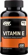 Optimum Nutrition Vitamin E (200гел.капс)