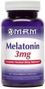 MRM - Melatonin 3mg (60капс)