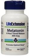 Life Extension Melatonin 300mcg (100капс)