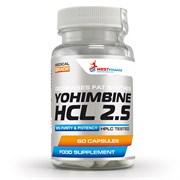 WESTPHARM Yohimbine HCL 2.5 (60капс)