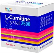 LIQUID & LIQUID - L-Carnitine Crystal 2500 (20x25мл)